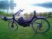 千波湖を自転車で走る