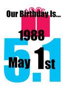 1988年5月1日生まれ
