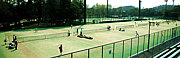 春日公園・まどかパークでテニス