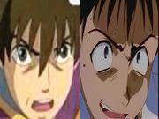 アレン vs シンジ