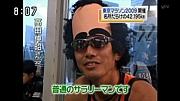 東京マラソンでヅラかぶってた人