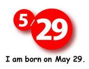 5月29日生まれ