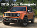 Jeep Renegade / レネゲード