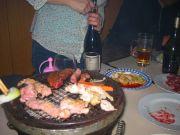 焼肉とワイン