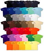 同じ色のTシャツを着て集まる部