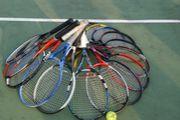 週末にテニス!