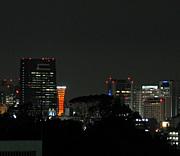 家から夜景が見える