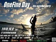 ONE FINE DAY〜the autumn party