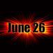 6月26日生まれ!