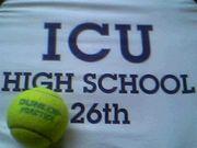 ICUHS 26thテニス部