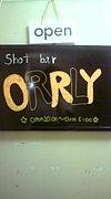 大阪ミナミ shot Bar ORRLY