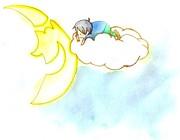 月夜雲空飛旅団