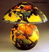 ガラスのランプ