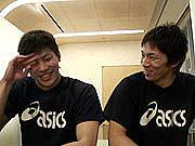 全日本男子バレー大学生コンビ♪