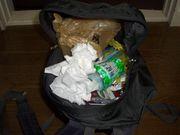 バッグにゴミがたまる人