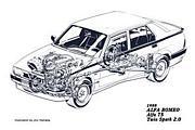 Trans Axle Alfa Romeo