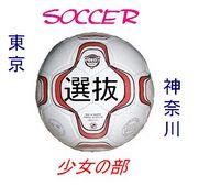 東京神奈川選抜少女サッカーの部