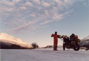 雪中ツーリング