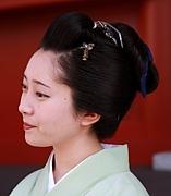 自分で日本髪を結う!