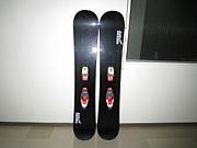 ボードスキー(スノボ2枚履き)