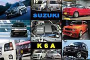 K6A(SUZUKI軽四660DOHC3気筒)