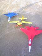 R/C電動飛行機