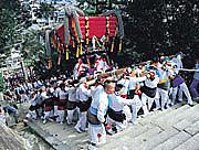 吉浦蟹祭り