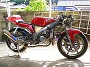 RS125+4ミニエンジンの人たち