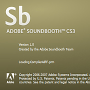 Adobe Sound Booth
