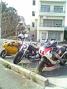 バイクに乗る自分に惚れる