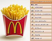 マクドナルドのポテト中毒
