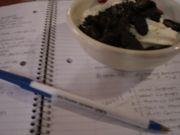 勉強中にお菓子は必需品♥