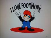 I LOVE FOOTWORK 好き