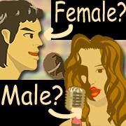異性ボーカルの曲を歌う!