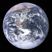 地球が蒼く見えない