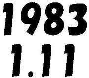 1983年1月11日生まれ
