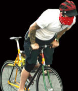 自転車便メッセンジャー