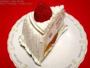 ケーキの後にたくあん。