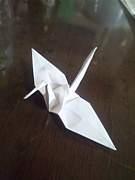 誰かのために 折り鶴を 携帯AA