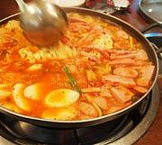 韓国鍋『ブデチゲ』(プデチゲ)