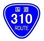 国道310号線