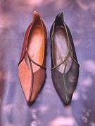 ベルパッソのアートな靴