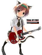 ギター&ベースは女の子!