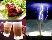 唐揚げと生ビールと雷と竜巻の会