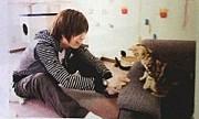 猫と戯れる神谷浩史に萌え!