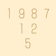 1987年12月5日生まれ