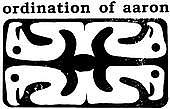 ordination of aaron