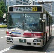 西鉄バス 21番系統志賀島和白線