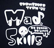SNOWBOARD TEAM MAD SKILLS