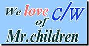 We Love c/w of Mr.children